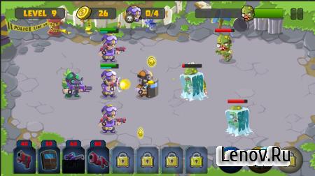 Special Squad vs Zombies (обновлено v 1.1) (Mod Money)