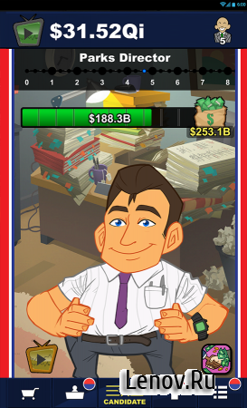 Pocket Politics: Idle Money v 1.452 Мод (Multipliers x99 & More)