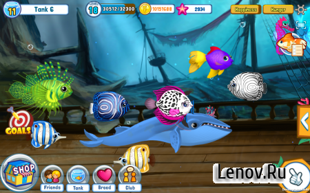 Fish Adventure Seasons v 1.15 Мод (Unlimited Coins/Seastars)