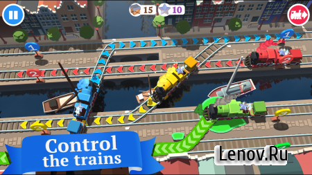 Train Conductor World v 18.0 Mod (tiling in maps not reduced)
