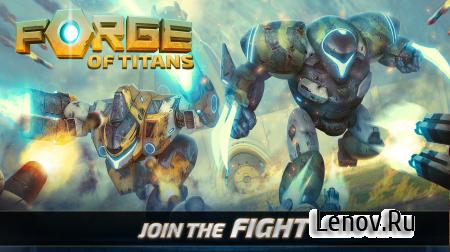 Forge of Titans: Mech Wars (обновлено v 1.3.3) Мод (много денег)