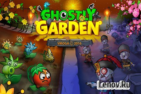 Ghostly Garden v 1.0.0.1 (Mod Coins)