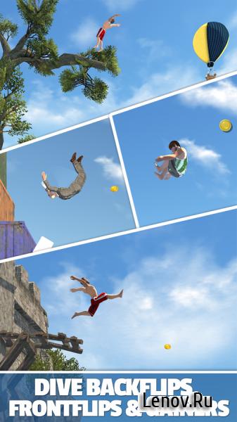 Скачать бесплатно игру flip diving для iphone и ipad.