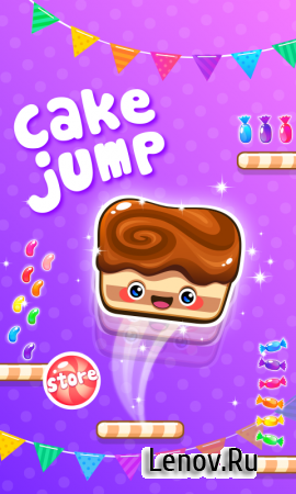 Cake Jump v 1.07 (Mod Money/Ads-Free)