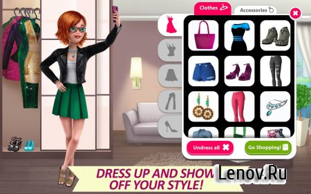 It Girl Story - Hollywood Star (обновлено v 2.397) (Mod Money)