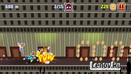 Pixel Super Heroes v 2.0.34 Мод (Unlock All Heroes/Infinite Coins)