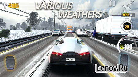 Racing Traffic Tour - multiplayer car racing v 1.3.21 Мод (Infinite Cash/Gold)