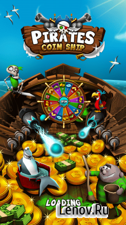 Coin Pusher: Pirate Booty v 1.2.2 Мод (Infinite Coins & More)