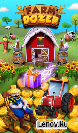 Coin Pusher: Farm Treat v 1.2.2 Мод (Infinite Coins & More)