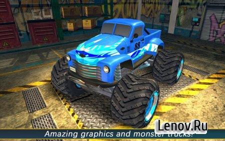 AEN Monster Truck Arena 2017 (обновлено v 1.4) Мод (много денег)