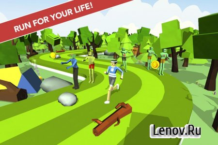 Zombies Chasing Me v 1.1 Мод (Unlocked)