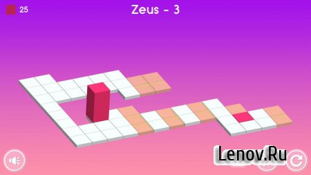 Bloxorz - Block And Hole (обновлено v 1.3.2) Мод (Unlocked)