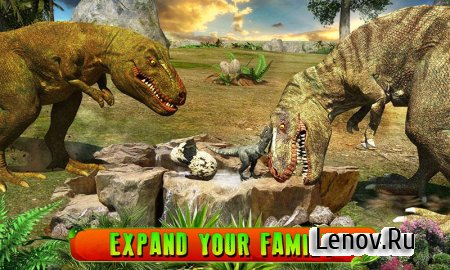 Ultimate T-Rex Simulator 3D (обновлено v 1.3) Mod (Skill Points)