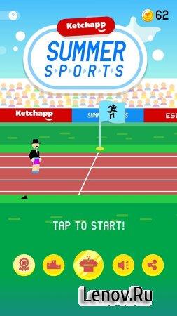 Ketchapp Summer Sports (обновлено v 2.01) Мод (Unlocked)