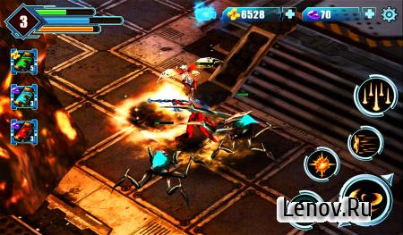 Devil Fighting War 3D v 1.1 (God Mode & More)