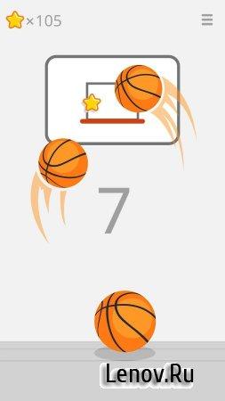 Ketchapp Basketball (обновлено v 1.2.1) Мод (Ads-Free)