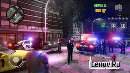 Clash of Crime Mad City War (обновлено v 1.0.1) (Mod Money)