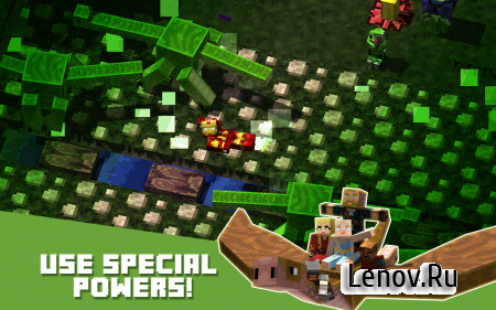Crossy Creeper : Heroe of Clans v 3.5 (Mod Money)