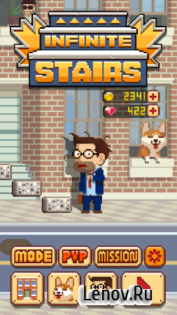 Infinite Stairs v 1.3.38 (Mod Money)