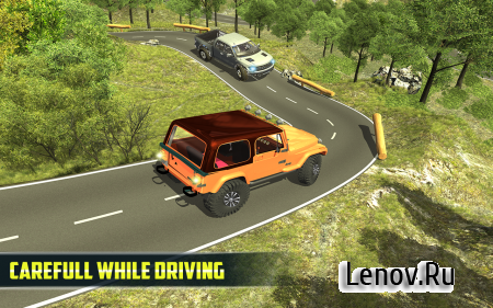 4X4 Offroad Jeep Mountain Hill v 1.2