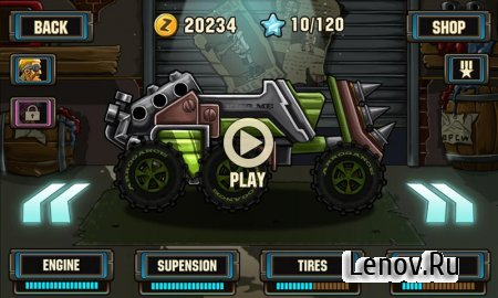 Zombie Road Racing v 1.0.4 Мод (много денег)