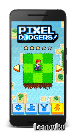 Pixel Dodgers v 1.6 Мод (Free Shopping)
