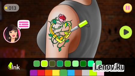 Fab Tattoo Design Studio (обновлено v 1.8) (Mod Unlock/Ads-Free)