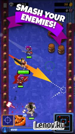 Barbaric: The Golden Hero (обновлено v 1.1.00) (Mod Coins/Gems/Energy)