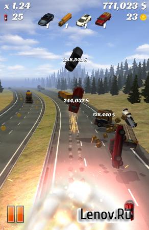 Highway Crash Derby v 1.8.0 (Mod Money)