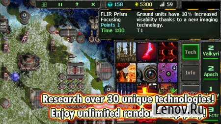 Land Air Sea Warfare RTS v 1.0.12 Мод (All Unit Cost 10)