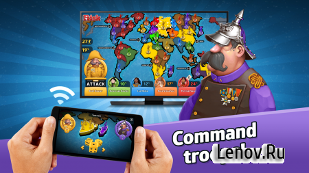 RISK: Global Domination v 2.0.3 Мод (Unlimited tokens/Premium packs unlocked)