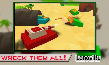 Blocky Tanks Force v 1.3 (Mod Money)