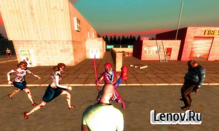 Ninja vs Zombie v 2.4 Мод (Unlock all weapons & More)