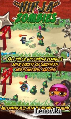 Ninja and Zombies v 1.0.4