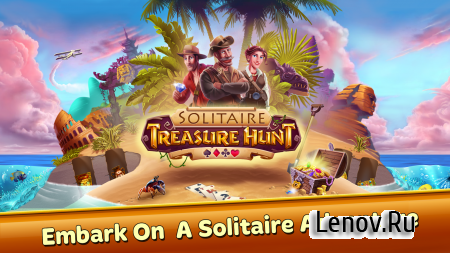 Solitaire Treasure Hunt v 1.0.029 Мод (Gems never decrease)