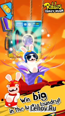 Rabbids Crazy Rush v 1.3.6 (Mod Money)