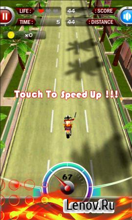 Turbo moto 3D v 4.1 (Mod Money)