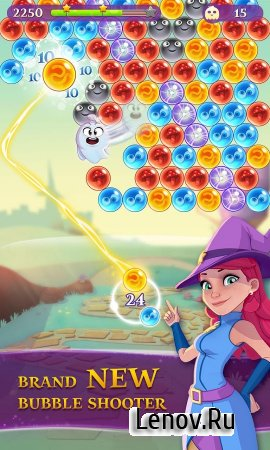 Bubble Witch 3 Saga v 5.4.4 Мод (Unlimited Boosters & More)