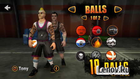 Jam League Basketball v 1.3.9 Мод (Unlimited Coins/Fast Level Up)
