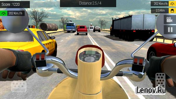 мод на деньги в игре traffic rider
