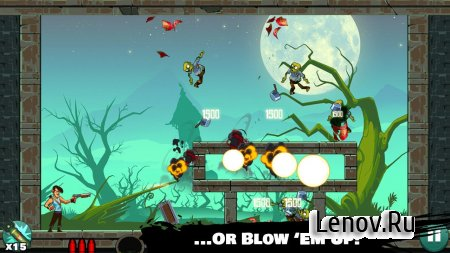 Stupid Zombies v 2.0.3 Мод (Unlimited air strikes/Ads removed)