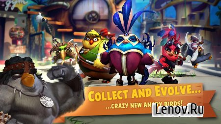 Angry Birds Evolution v 2.2.2 (God Mode/High Damage/Ads Disabled)