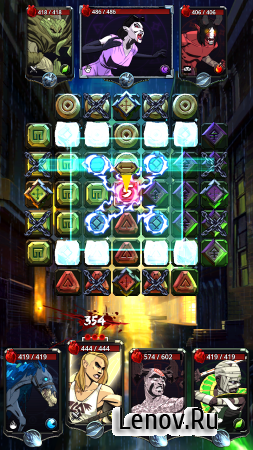 Shadow Wars: Puzzle RPG v 1.8.5 Мод (Unlimited Currency)