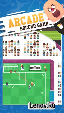 Soccer Hit v 1.0.57 (Mod Money)