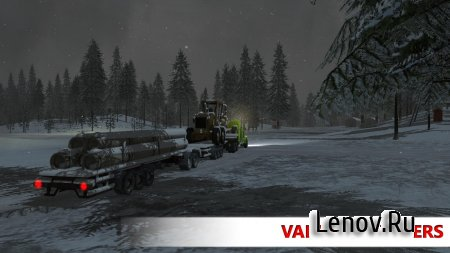 Arctic Trucker Simulator v 1.0 (Mod Money)