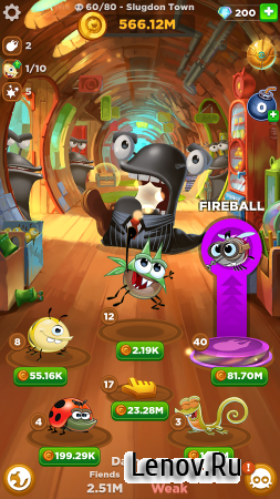 Best Fiends Forever v 2.5.1 (Mod Money)