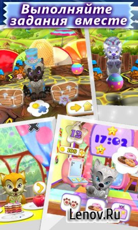 Cute Kitty: My Little Kitten v 1.23 (Mod Money/Ads-Free)