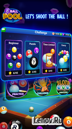 8 Ball Pool: Billiards Pool v 1.1.0 Мод (Power Max and AIM/Reward 99999)