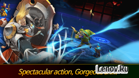 Heroes League Another World (обновлено v 1.43) (god mode/massive dmg)