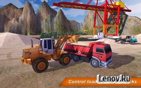 Loader & Dump Truck Hill SIM 2 (обновлено v 1.4) (Mod Money)